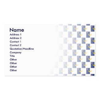 Azores flag seamless pattern business card template