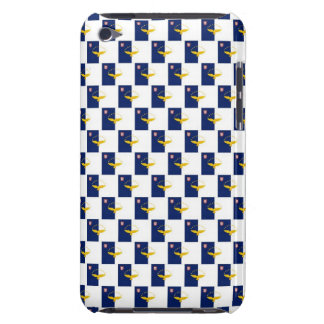 Azores flag seamless pattern iPod Case-Mate cases