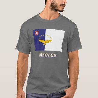 Azores Flag with Name T-Shirt