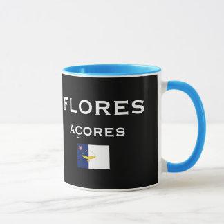 Azores - Flores Map Coffee Mug