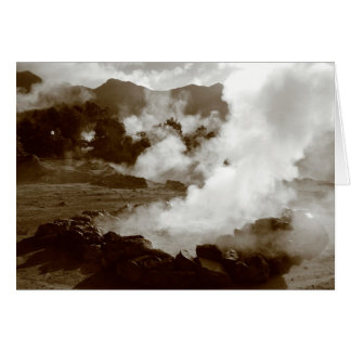 Azores (Furnas) hotsprings card