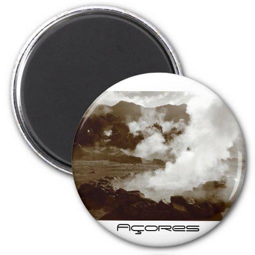 Azores (Furnas) hotsprings magnet