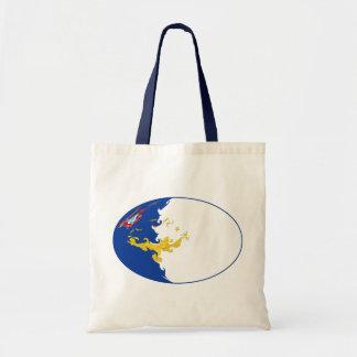 Azores Gnarly Flag Bag Budget Tote Bag