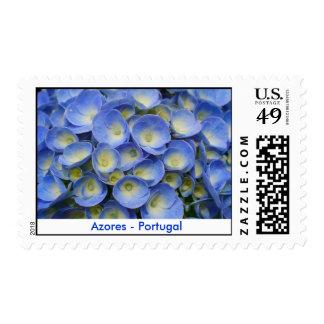 Azores Hydrangeas Postage