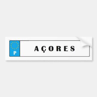 Azores* Islands Car License Sticker Bumper Stickers