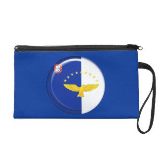 Azores islands flag wristlet purses