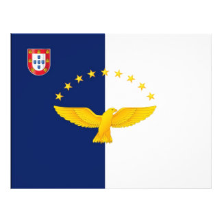 "Azores islands flag 8.5"" x 11"" flyer"