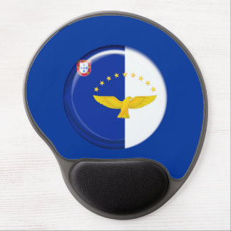 Azores islands flag gel mouse pad
