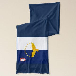 Azores islands flag scarf