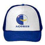Azores islands flag trucker hat