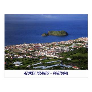 Azores Islands Postcard