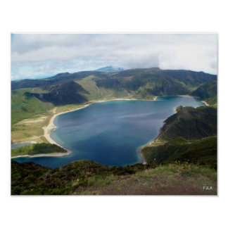 Azores Islands Poster