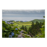 Azores isles landscape #2 posters