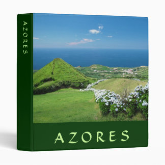 Azores landscape 3 ring binder