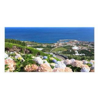 Azores landscape card