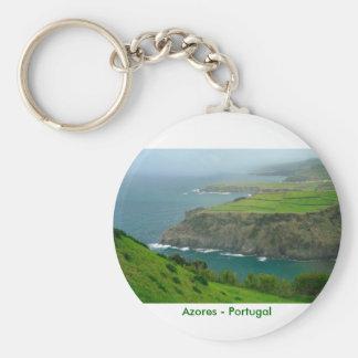 Azores landscape keychain