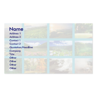 Azores Landscapes Business Card Template