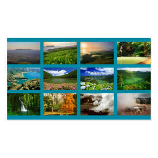 Azores Landscapes Business Card Templates