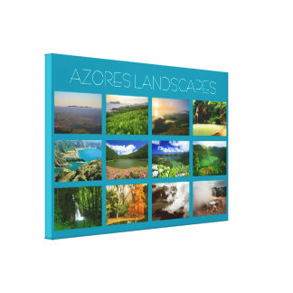 Azores Landscapes Gallery Wrapped Canvas