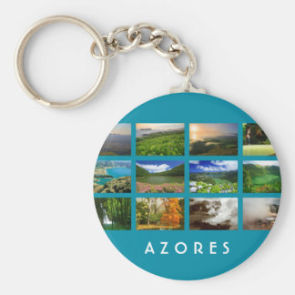 Azores Landscapes Keychain