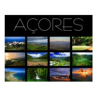Azores Landscapes Postcard
