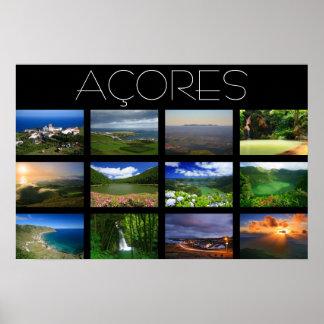 Azores Landscapes Poster