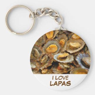 """Azores limpets """"lapas"""" keychain"""