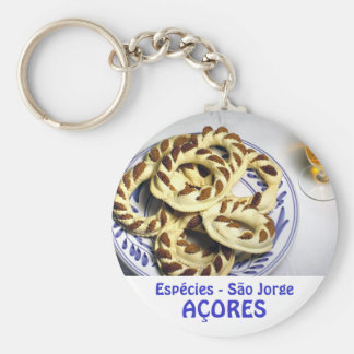 Azores pastry - Espécies Keychain
