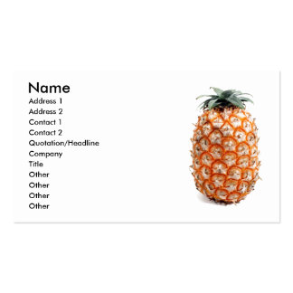 Azores pineapple Double-Sided standard business cards (Pack of 100)