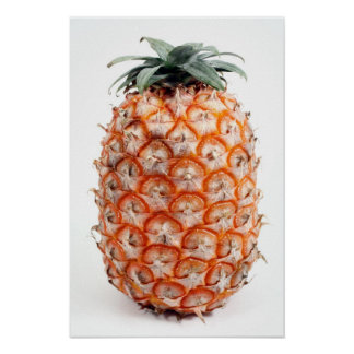 Azores pineapple poster