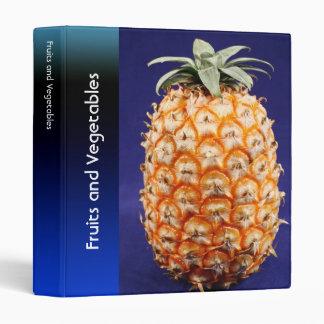 Azores pineapple vinyl binder