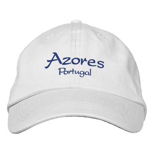 Azores Portugal Embroidered Baseball Hat