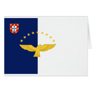 Azores (Portugal) Flag Greeting Cards