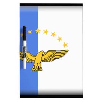 Azores (Portugal) Flag Dry-Erase Board