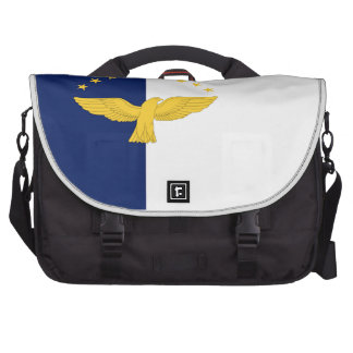 Azores (Portugal) Flag Bag For Laptop