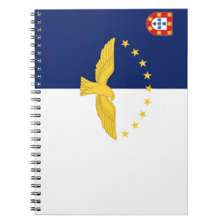 Azores (Portugal) Flag Spiral Notebooks