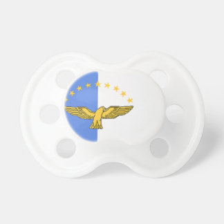 Azores (Portugal) Flag Pacifier