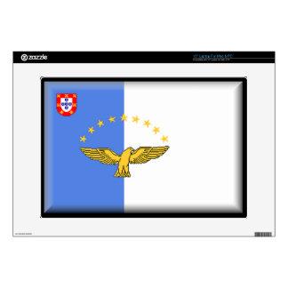 "Azores (Portugal) Flag Skins For 15"" Laptops"