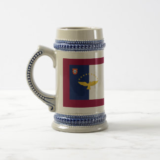 Azores Portugal Flags Beer Stein