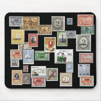 AZORES - Postage Stamp Mousepad