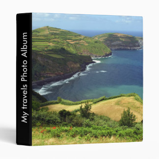 Azores sea 3 ring binder