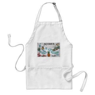Azores souvenir adult apron