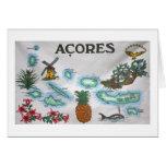 Azores souvenir greeting card