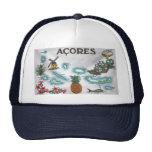 Azores souvenir trucker hats
