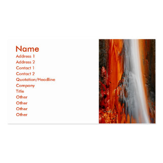 Azores thermal water Double-Sided standard business cards (Pack of 100)