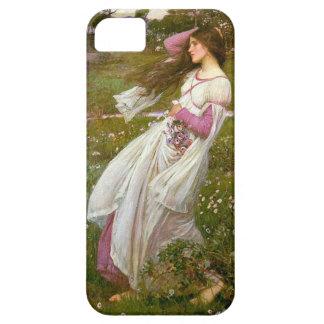 Azotado por el viento por el Waterhouse iPhone 5 Carcasa