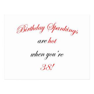 Azote de 38 cumpleaños postales