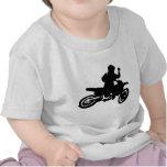 Azote de la bici del motocrós camisetas