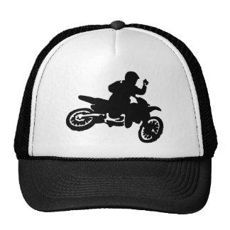 Azote de la bici del motocrós gorra