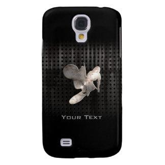 Azote del motocrós; Negro fresco Funda Para Galaxy S4
